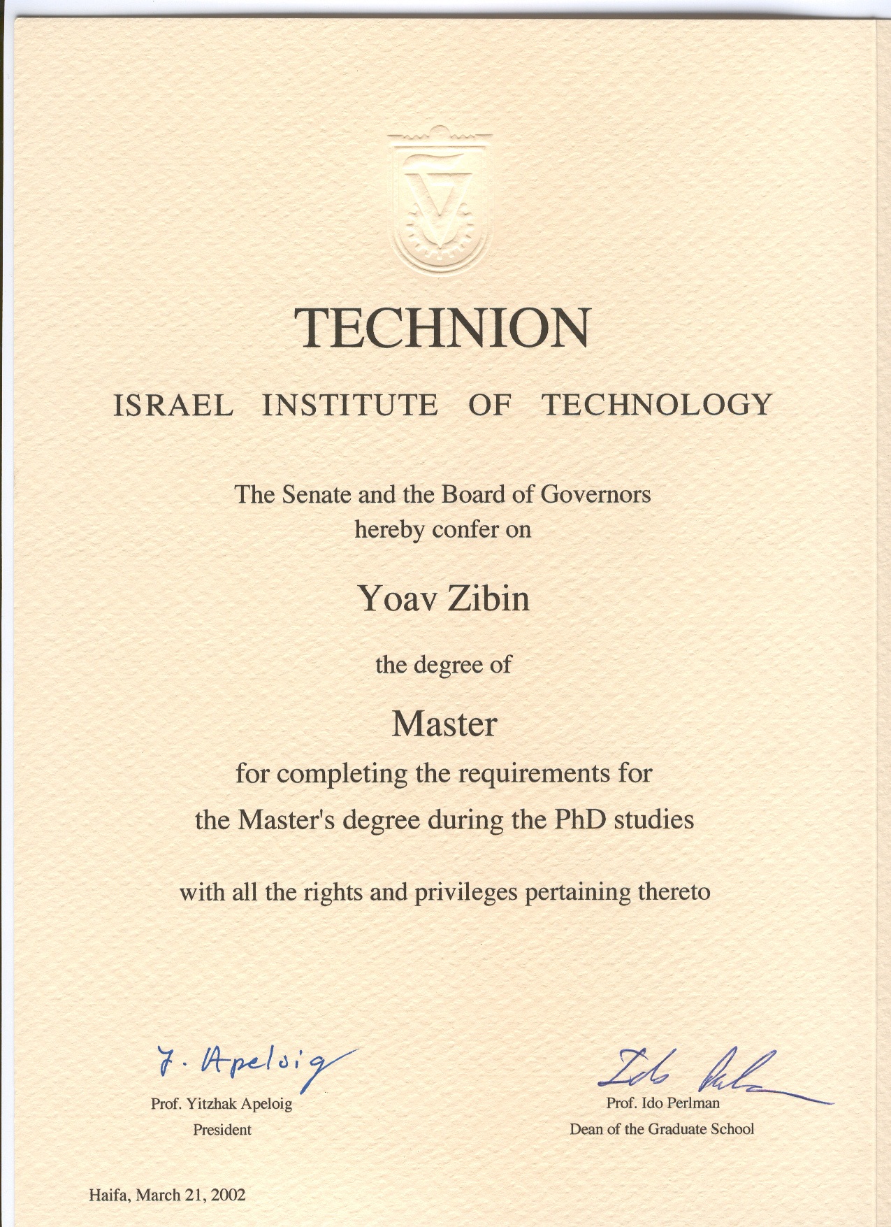 technion msc thesis Technion-iit-thesis - a class for technion iit phd/masters theses technion-iit-thesis / thesistex % your thesis (msc/phd/march etc).